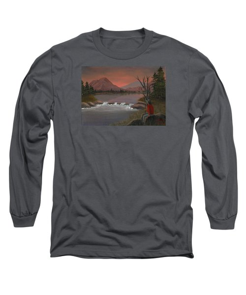 Sunset Serenade Long Sleeve T-Shirt by Sheri Keith