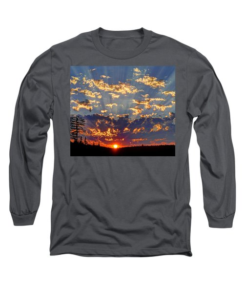 Sunset Spectacle Long Sleeve T-Shirt by Peter Mooyman