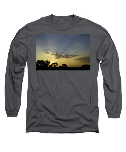 Sunset Sunrays Long Sleeve T-Shirt