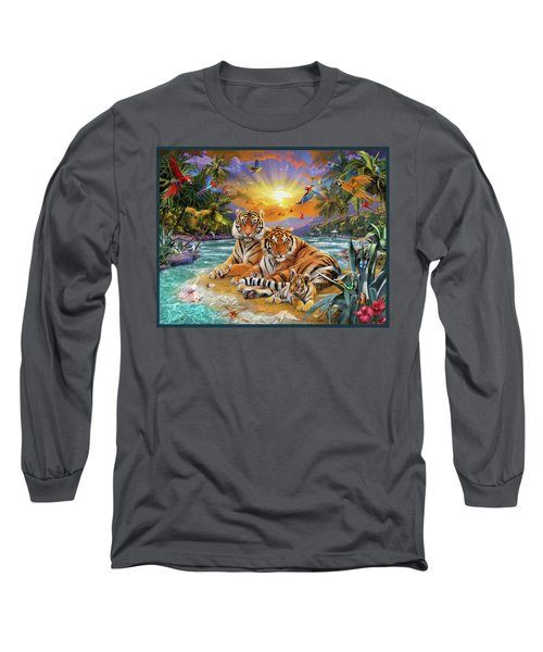 Sunset Tigers Long Sleeve T-Shirt