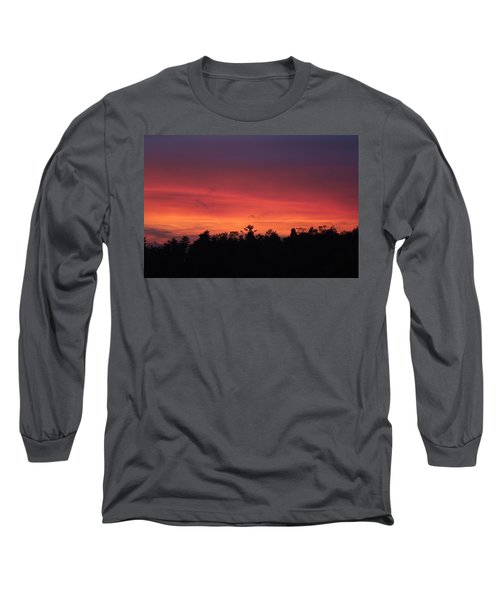 Sunset Tones Long Sleeve T-Shirt by Tom Culver