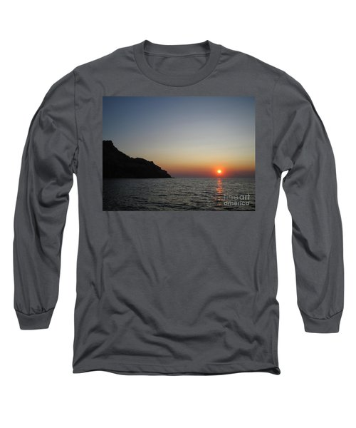Sunset Long Sleeve T-Shirt by Vicki Spindler