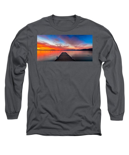 Sunset Walkway Long Sleeve T-Shirt