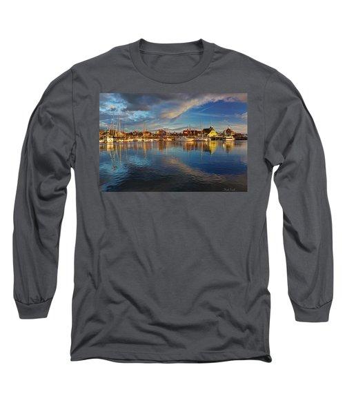 Sunset's Warm Glow Long Sleeve T-Shirt