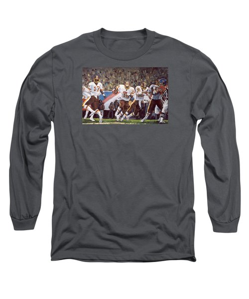 Superbowl Xii Long Sleeve T-Shirt by Donna Tucker