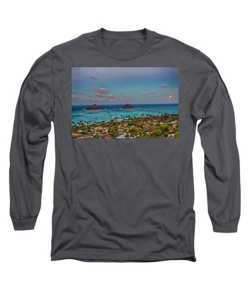Supermoon Moonrise Long Sleeve T-Shirt