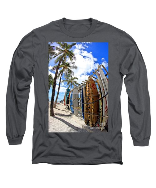 Surf And Sun Waikiki Long Sleeve T-Shirt