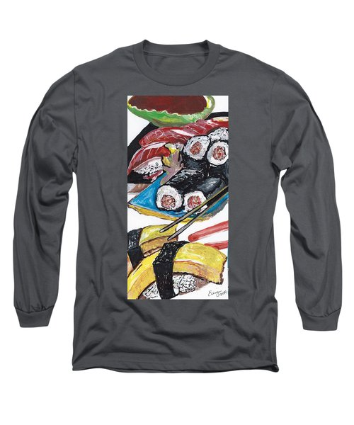 Sushi Bar Painting Long Sleeve T-Shirt