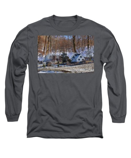 Long Sleeve T-Shirt featuring the photograph Sweet Country Charm by Liane Wright