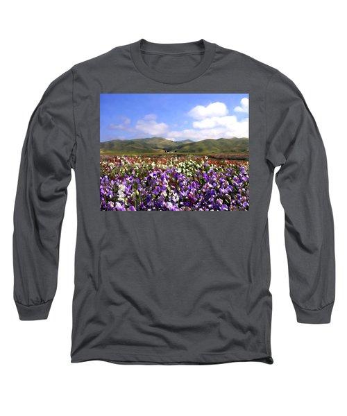 Sweet Peas Galore Long Sleeve T-Shirt