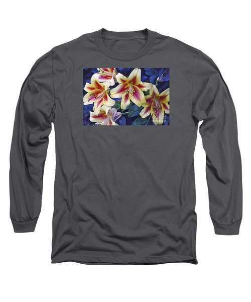 Long Sleeve T-Shirt featuring the photograph Sweet Summer Time  by Juls Adams