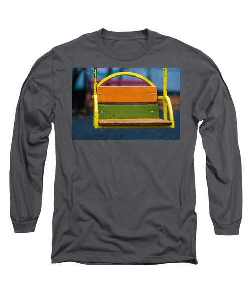 Swinging Rain - Featured 3 Long Sleeve T-Shirt by Alexander Senin