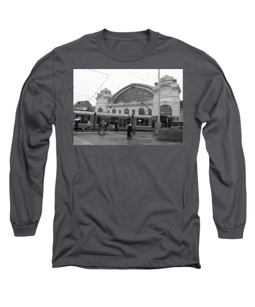 Swiss Railway Station Long Sleeve T-Shirt