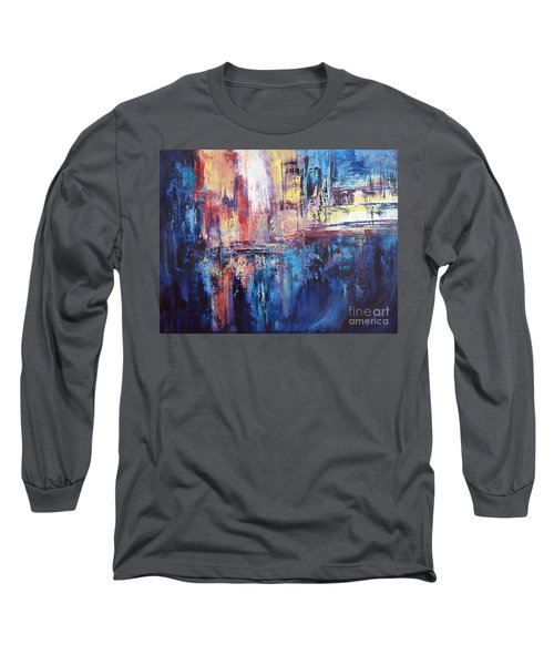 Symphony In Blue Long Sleeve T-Shirt