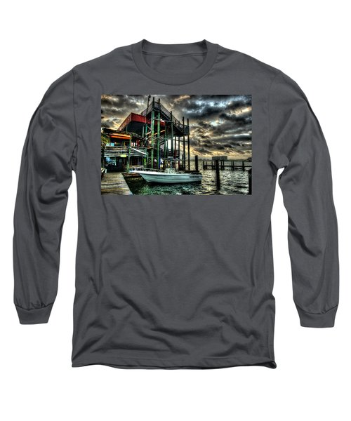 Long Sleeve T-Shirt featuring the digital art Tacky Jack Morning by Michael Thomas
