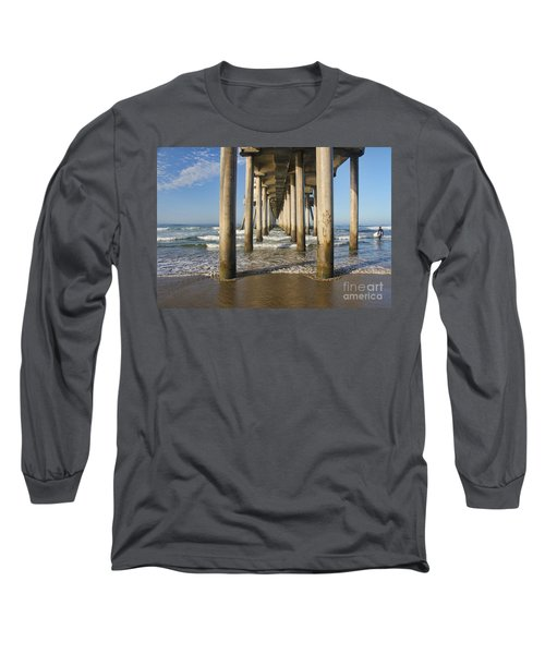 Long Sleeve T-Shirt featuring the photograph Take A Break by Tammy Espino