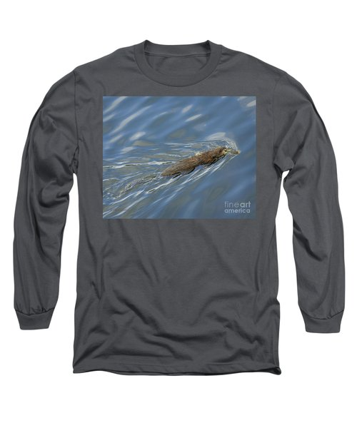Long Sleeve T-Shirt featuring the photograph Taking Dinner Home by Carol Lynn Coronios