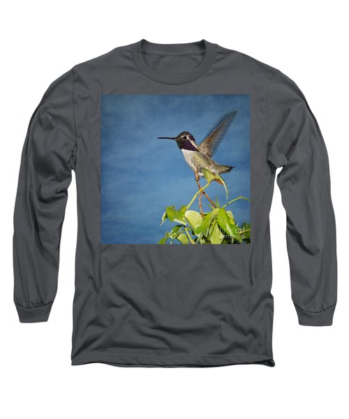 Taking Flight Long Sleeve T-Shirt by Peggy Hughes