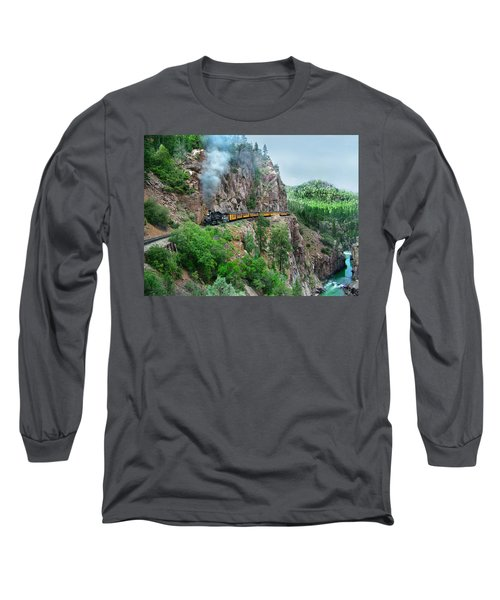Taking The Highline Home Long Sleeve T-Shirt by Ken Smith