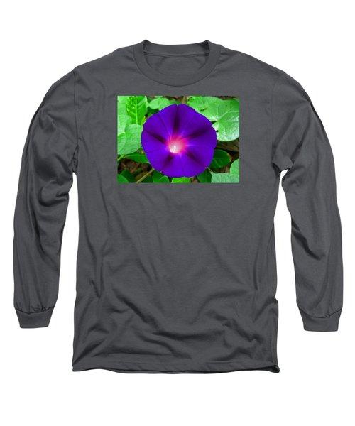 Tall Morning Glory Long Sleeve T-Shirt