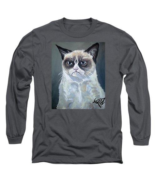 Tard - Grumpy Cat Long Sleeve T-Shirt