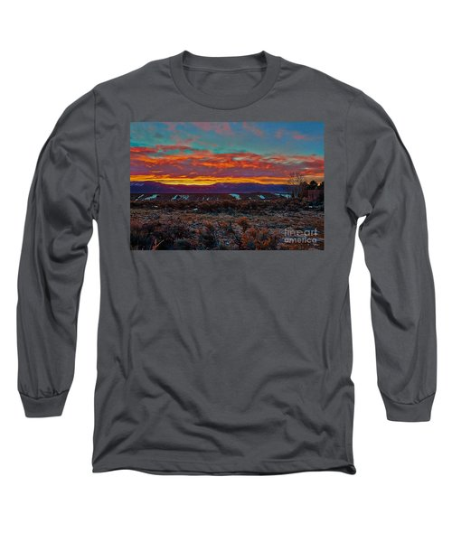 Taos Sunrise Long Sleeve T-Shirt