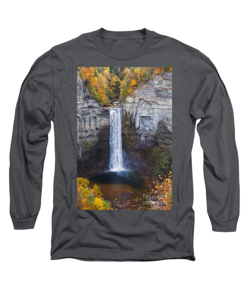 Taughannock Falls In Autumn Long Sleeve T-Shirt