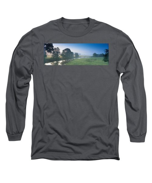 Taw River Near Barnstaple N Devon Long Sleeve T-Shirt