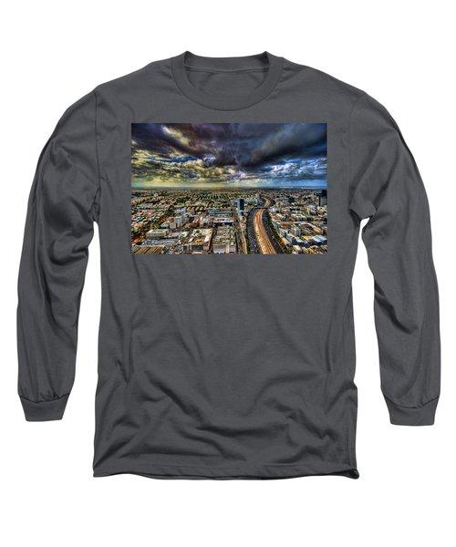 Tel Aviv Blade Runner Long Sleeve T-Shirt