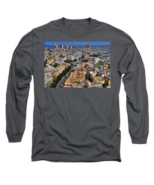 Tel Aviv Eagle Eye View Long Sleeve T-Shirt