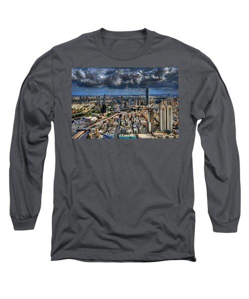Tel Aviv Love Long Sleeve T-Shirt