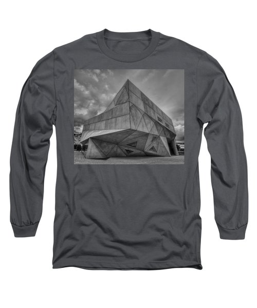 Long Sleeve T-Shirt featuring the photograph Tel Aviv Museum  by Ron Shoshani