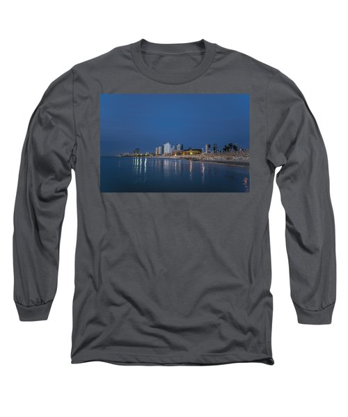 Tel Aviv The Blue Hour Long Sleeve T-Shirt