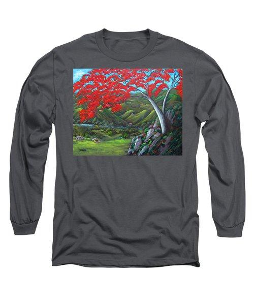 Tesoro De Mi Isla Long Sleeve T-Shirt