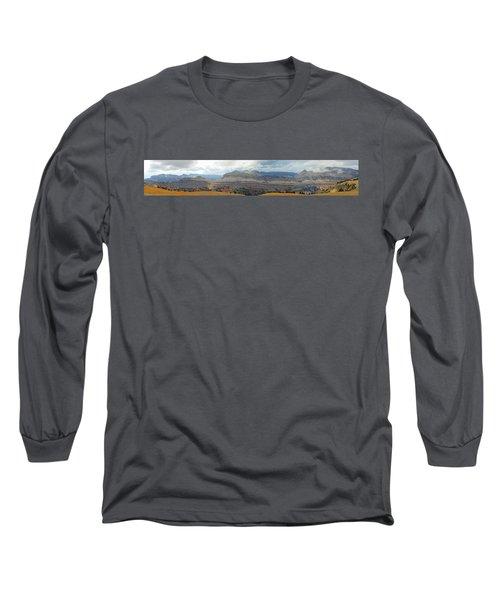 Teton Canyon Shelf Long Sleeve T-Shirt by Raymond Salani III