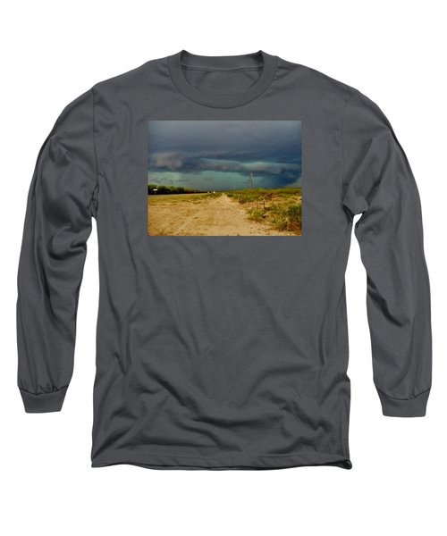 Texas Blue Thunder Long Sleeve T-Shirt by Ed Sweeney