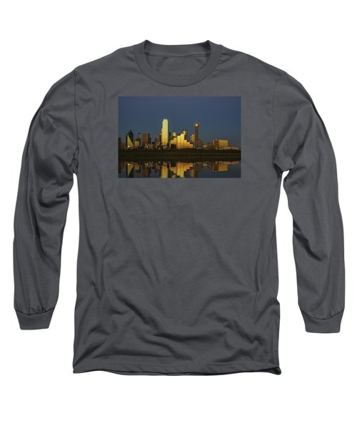 Texas Gold Long Sleeve T-Shirt by Rick Berk