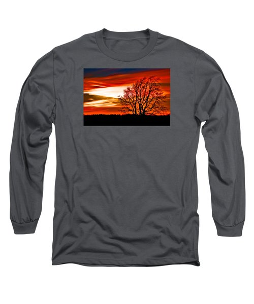 Texas Sunset Long Sleeve T-Shirt
