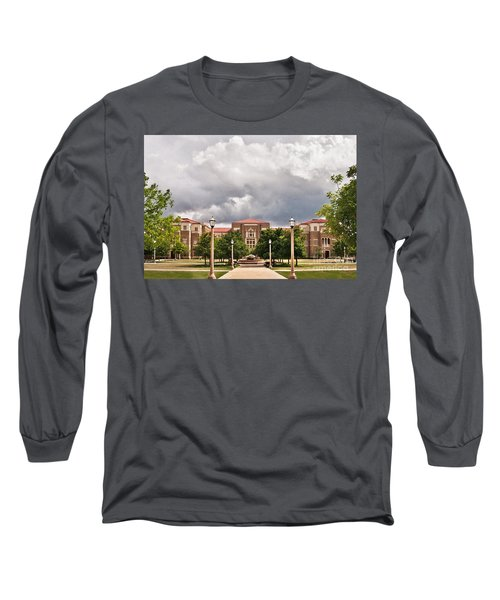 Long Sleeve T-Shirt featuring the photograph School Of Education by Mae Wertz