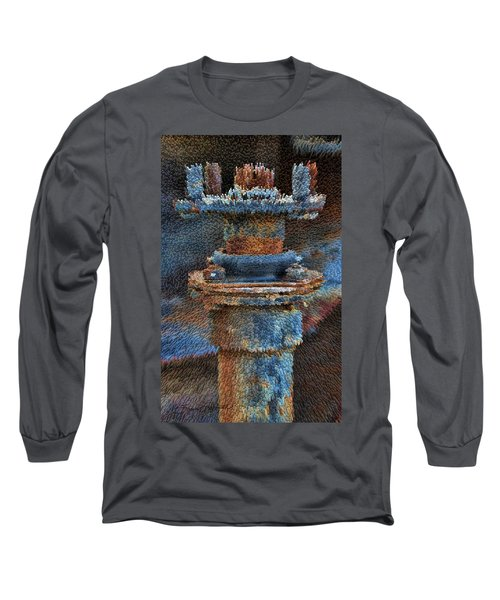 Texturized Pipe Long Sleeve T-Shirt