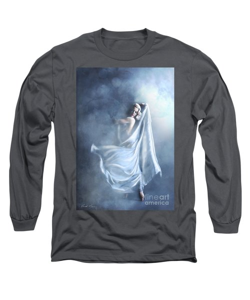 That Single Fleeting Moment When You Feel Alive Long Sleeve T-Shirt by Linda Lees