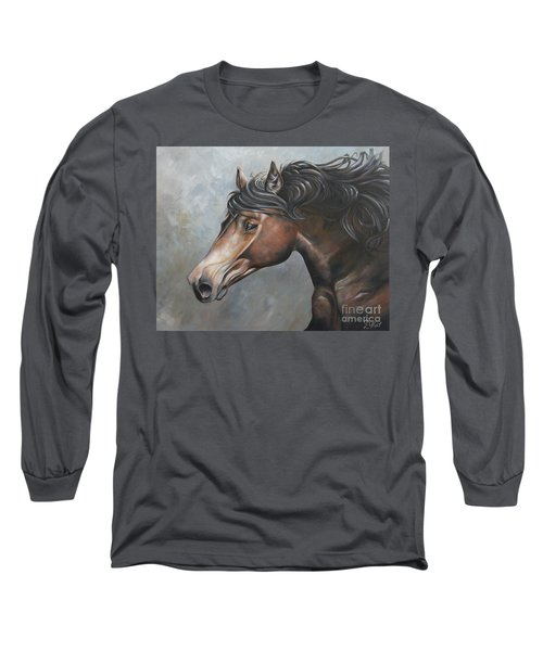 The Andalusian Long Sleeve T-Shirt by Debbie Hart