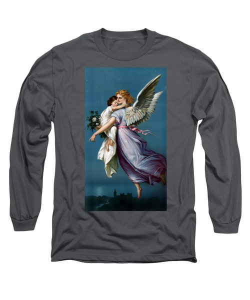 The Angel Of Peace For I Phone Long Sleeve T-Shirt