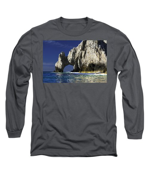 The Arch Cabo San Lucas Long Sleeve T-Shirt by Sebastian Musial