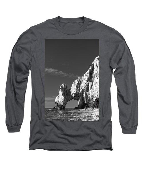 The Arch In Black And White Long Sleeve T-Shirt