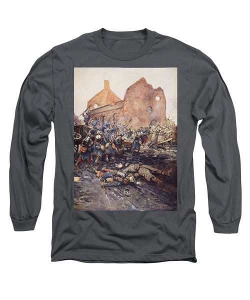 The Assualt Of Vermelles, 1915 Long Sleeve T-Shirt