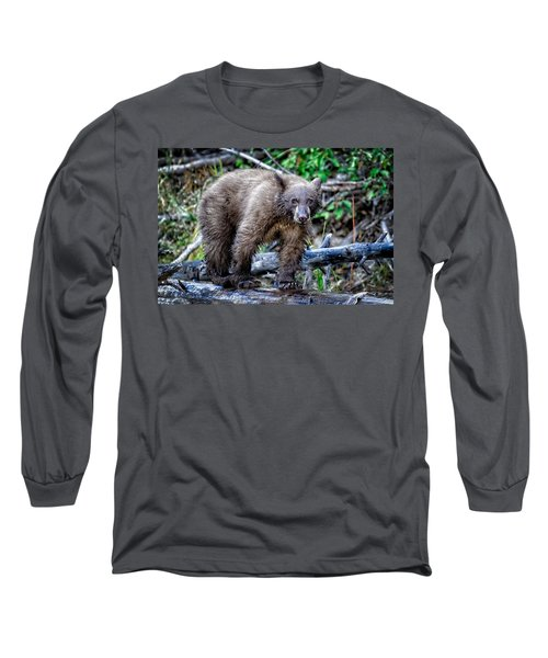 Long Sleeve T-Shirt featuring the photograph The Balance Beam by Jim Thompson