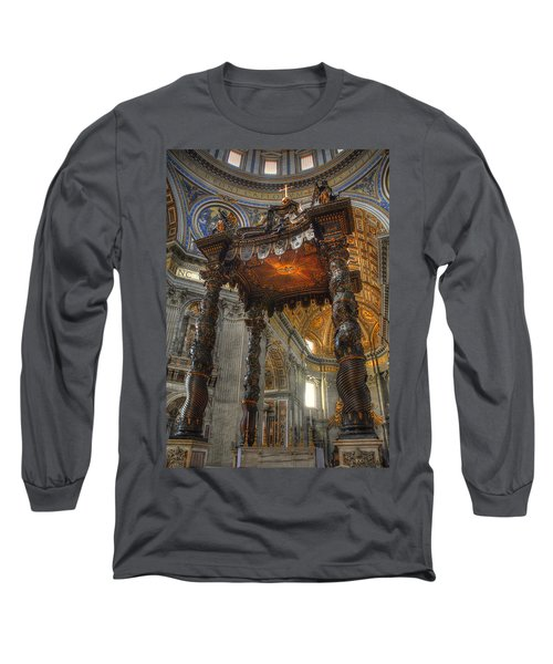 The Baldaccino Of Bernini Long Sleeve T-Shirt