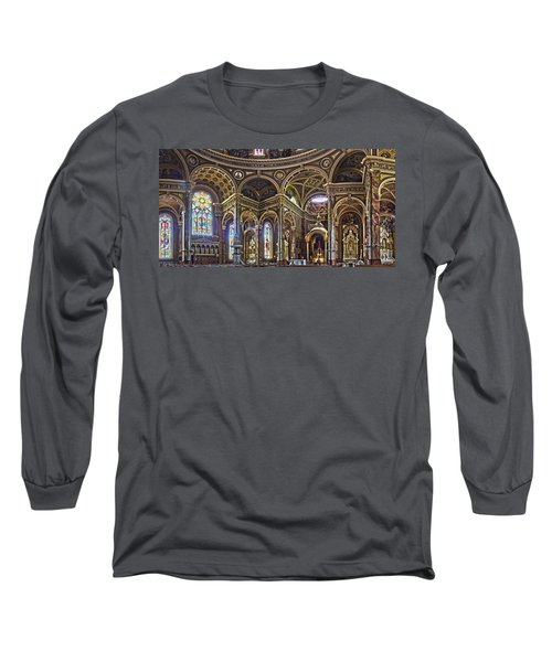 The Basilica Of St. Josaphat Long Sleeve T-Shirt