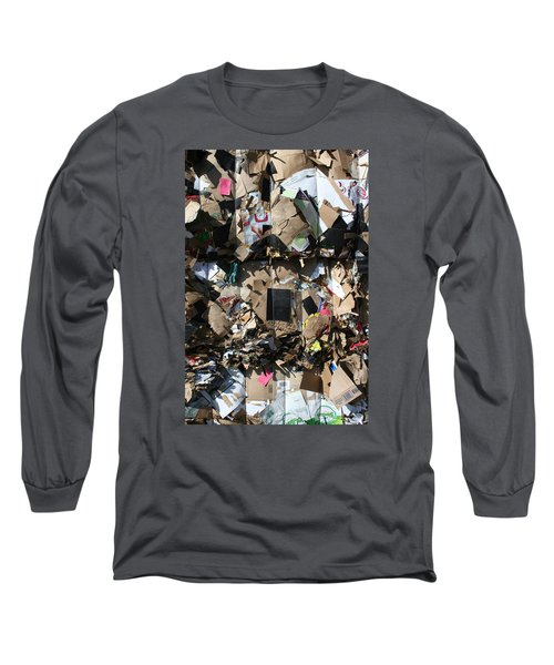 The Beauty Of Recycling Long Sleeve T-Shirt